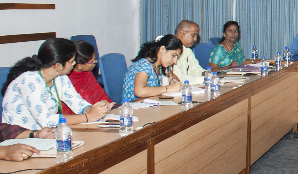 Participants at the meeting. Photo: PS Rao, ICRISAT