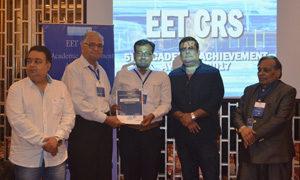 Dr Jaba at the EET CRS 5th Academic Achievements Awards. Photo: ICRISAT