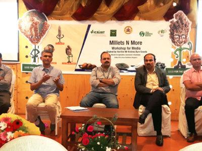 Dr Prabakar UASB, Mr Arun Koulagi Foods Honble, Dr Krishna Byre Gowda