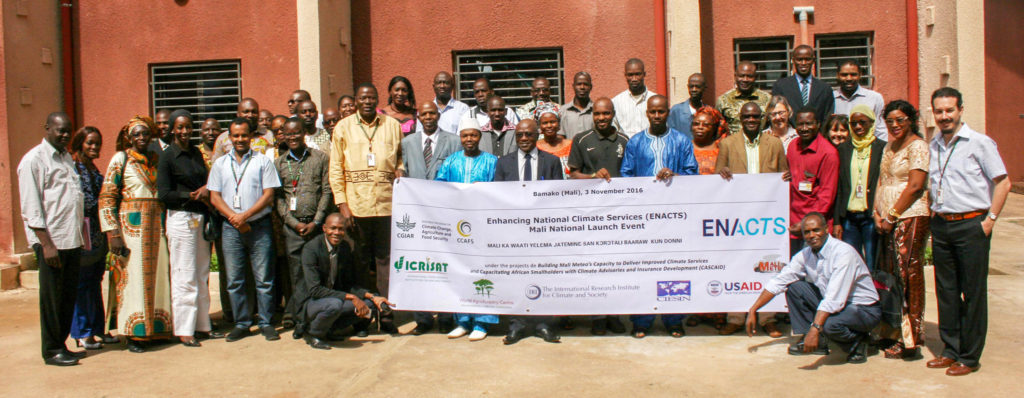 ENACTS Mali national launch at ICRISAT, Samanko.