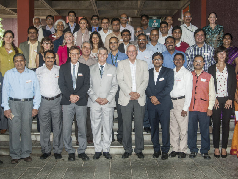 Participants at the workshop. Photo: PS Rao, ICRISAT
