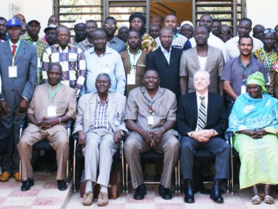 Participants at the capacity building training. Photo: A Diama, ICRISAT