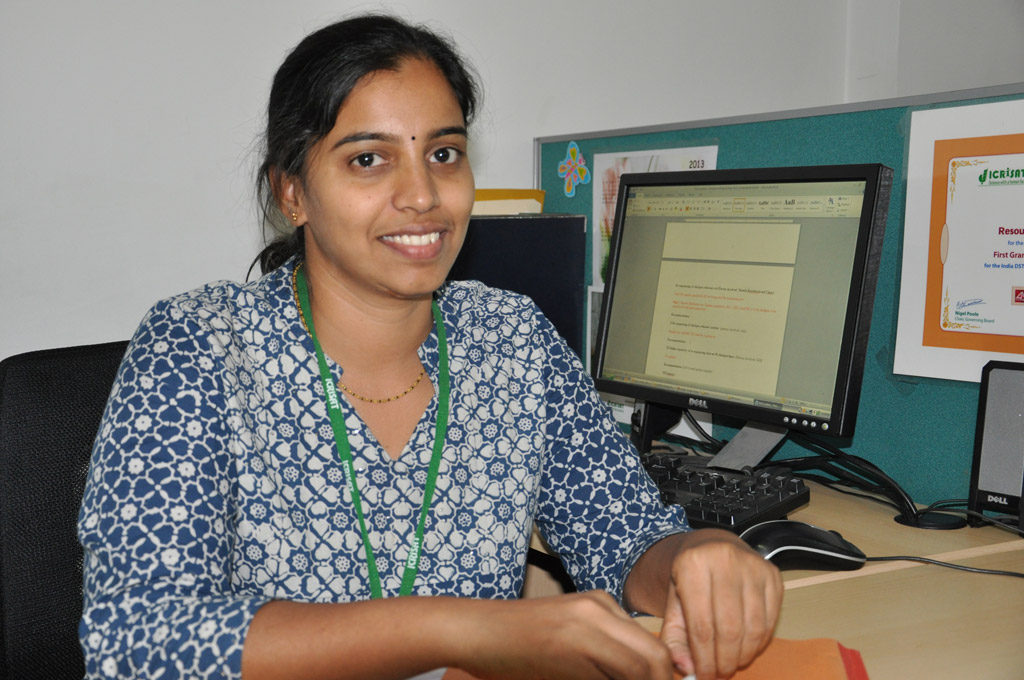 Himabindu Kudapa. Scientist - Genomics and Molecular Breeding