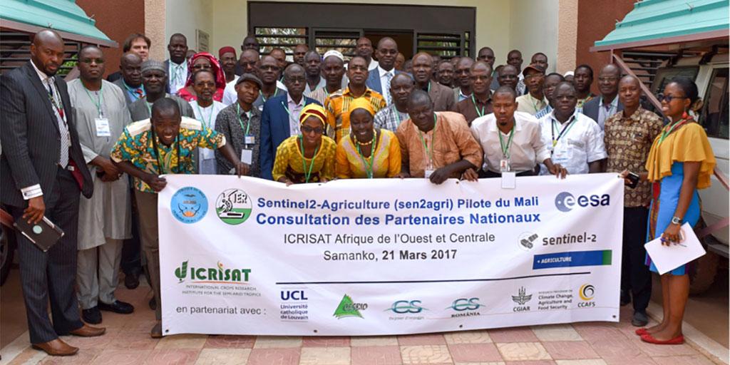 Sen2-Agri National Stakeholders Consultation Meeting at Bamako, Mali. Photo: ICRISAT