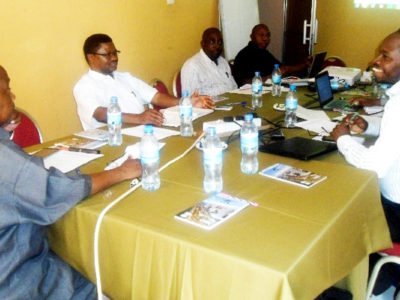 Basic seed planning meeting between ASA, NARI and ICRISAT members. Photo: H Daudi, NARI
