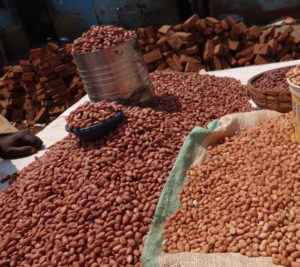 Groundnuts in Zambia's markets.