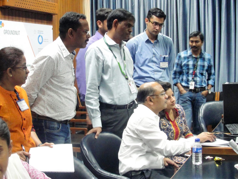 Participants at the systems modeling workshop. Photo: S Punna, ICRISAT