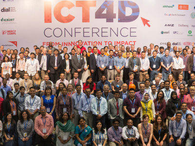 Participants at the ICT4D Conference at Hyderabad, India. Photo: S Punna, ICRISAT