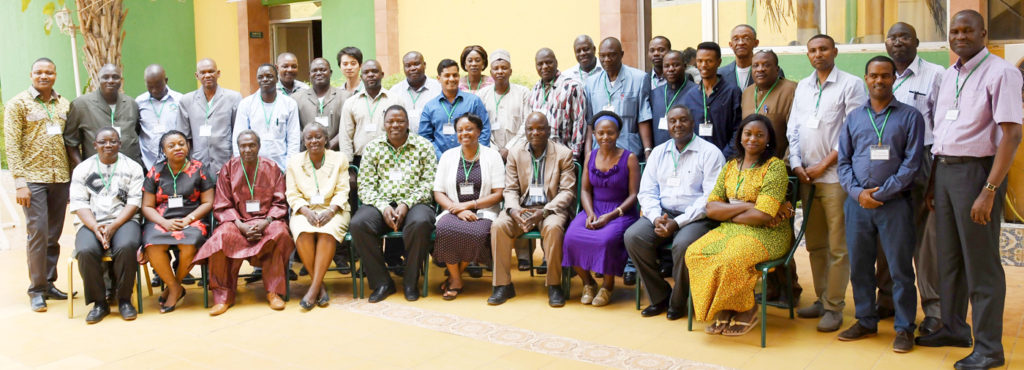 Participants de la rencontre annuelle de revue et de planification du projet HOPE II au Burkina Faso. Photo: A Diama, ICRISAT