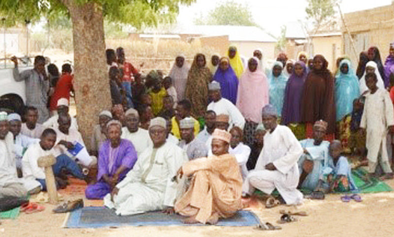 A community sensitization program at Kano-Jigawa SCPZ. Photo: ICRISAT