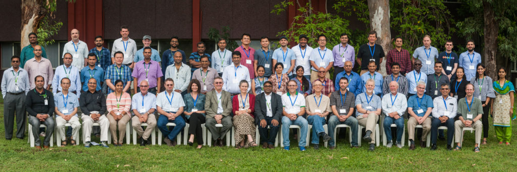 Participants at the GOBII project annual meeting. Photo: PS Rao, ICRISAT