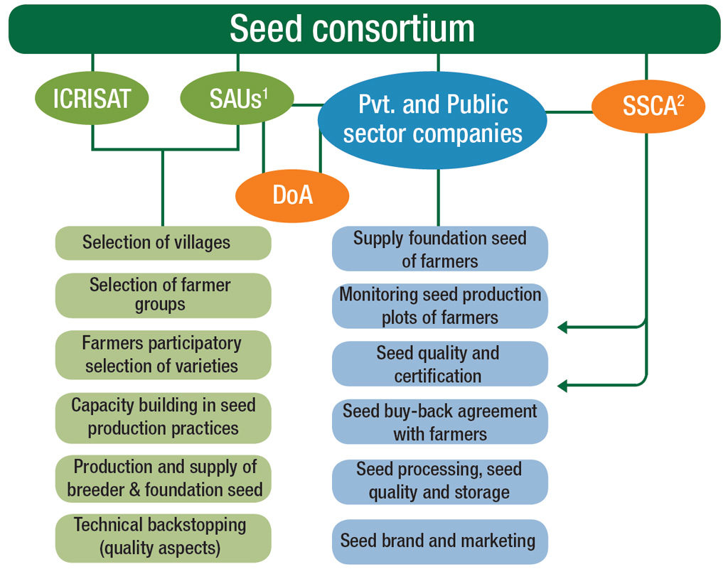1 State Agricultural University; 2 State Seed Certification Agency