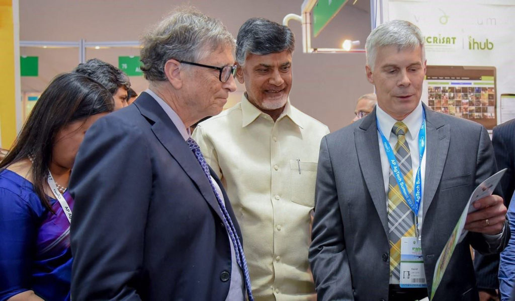 ICRISAT at the high-level AP AgTech Summit - Transforming agriculture to benefit farmers.