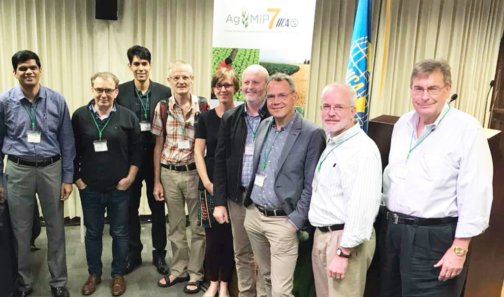 Dr K Dakshina Murthy, ICRISAT; Dr Marc Corbeels, CIRAD-CIMMYT; Dr Peter Q Craufurd, CIMMYT; Dr Sabine Homann-Kee Tui, ICRISAT; Dr Anthony Whitbread, ICRISAT; Dr Gideon Kruseman, CIMMYT; Dr Keith Wiebe, IFPRI; and Dr Mark Rosegrant, IFPRI.