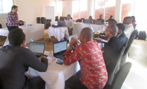 Participants at the Hackathon. Photo: ICRISAT
