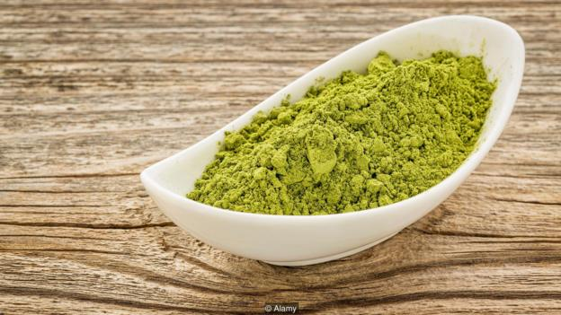 Moringa leaf powder can be used as a substitute for flours such as wheat and chickpea (Credit: Alamy)
