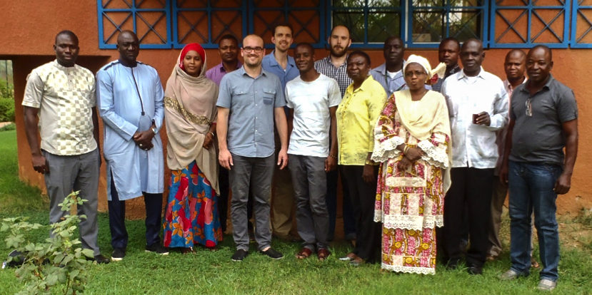 Participants of the GBS training course. Photo: A Kalilou Issa, ICRISAT