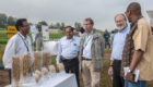 Board visit to ICRISAT facilities and demo sites.