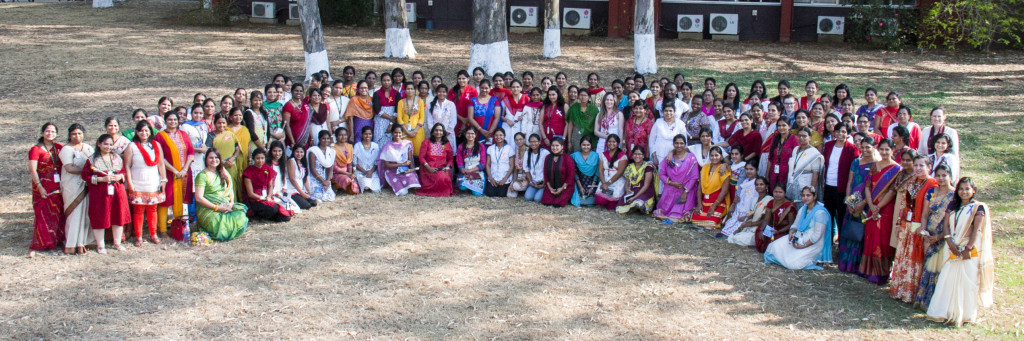 International Women's Day celebrations at ICRISAT. Photo: ICRISAT