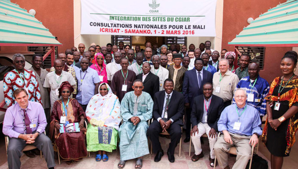 Participants at the National Consultation in Mali Photo: ICRISAT