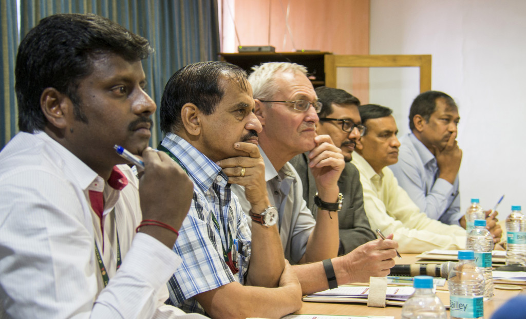 Participants at the review meeting. Photo: S Punna, ICRISAT