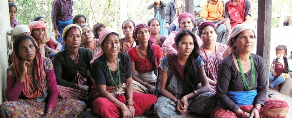 Women Self-Help Groups in Nepal.