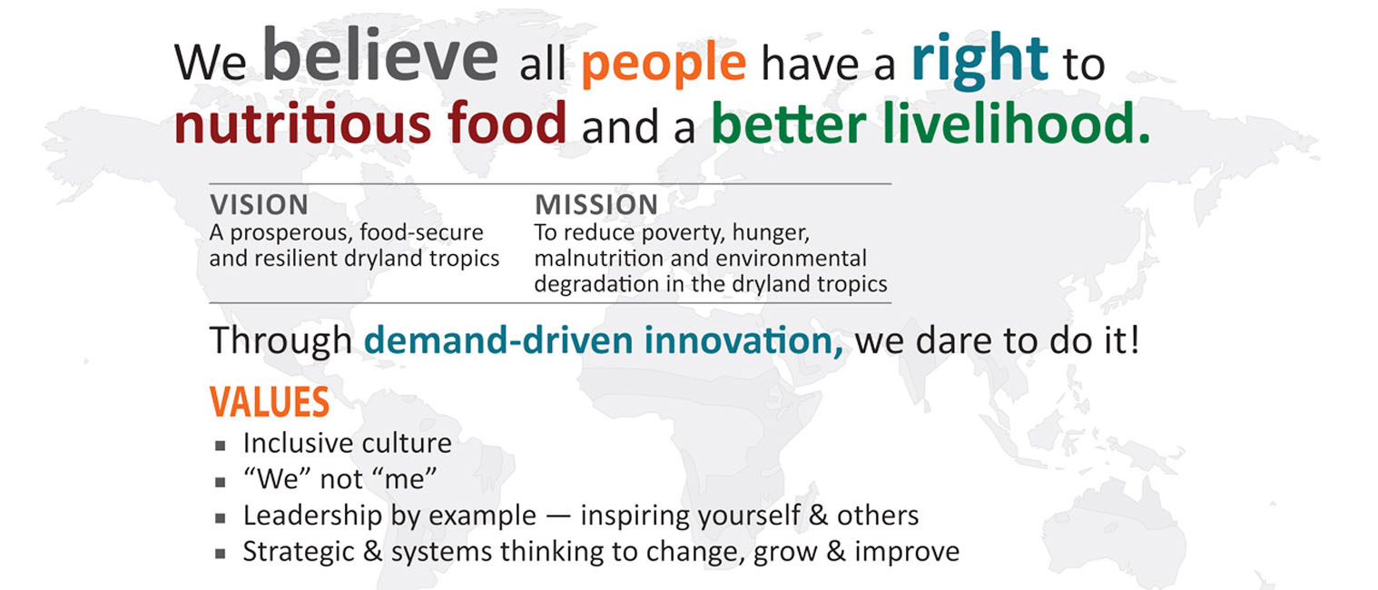 icrisat essay Fighting hunger and poverty - keynote speech by william d dar, director general, icrisat the manuscript has been reproduced as submitted by the author.