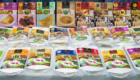 Millet products displayed at the workshop