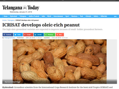 Media Coverage – Page 200 – ICRISAT