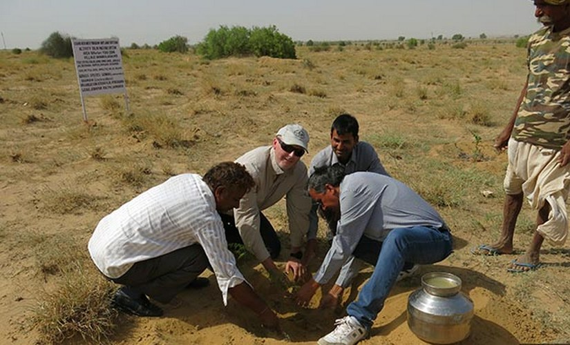To withstand climate change, farmers need adequate support by way of know-how and practical assistance for adoption of drought- or heat-tolerant crop varieties (cultivars), soil and water conservation technologies, said Anthony Whitbread, a research programme director at ICRISAT.