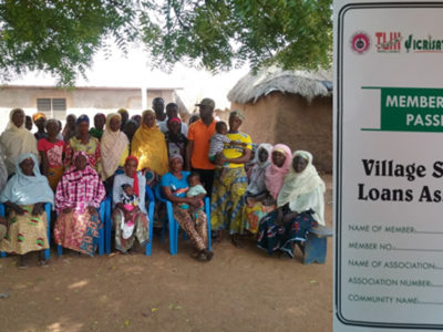Members of a Village Savings and Loans Association (VSLA) in northern Ghana. Photo: A Diama, ICRISAT