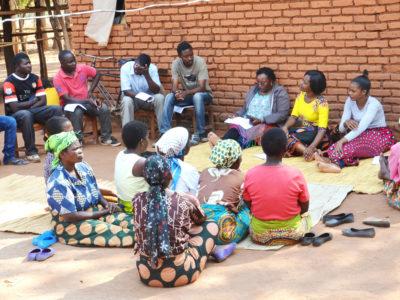 Women's Focus Group Discussion in Chileka EPA, Lilongwe District-Malawi. Photo: Peter Kadwala