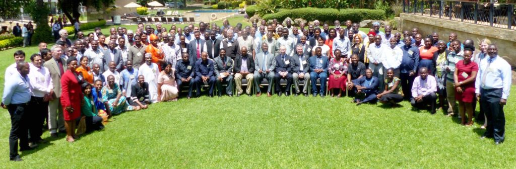 Participants at the AVISA launch. Photo: M Moussa, ICRISAT