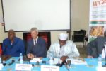 Delegates at the launch of CSAT-Mali and Niger projects at ICRISAT- Samanko. Photo: M Magassa, ICRISAT