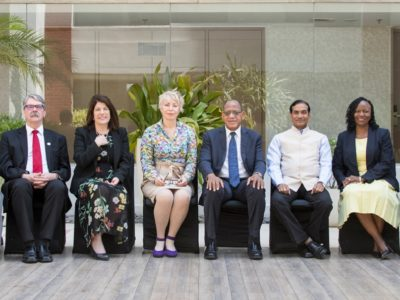 ICRISAT Governing Board Members, April 2019. Photo: P Srujan, ICRISAT
