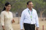 Dr Pooran Gaur with his wife, Mrs Om Gaur. Photo: P Srujan, ICRISAT