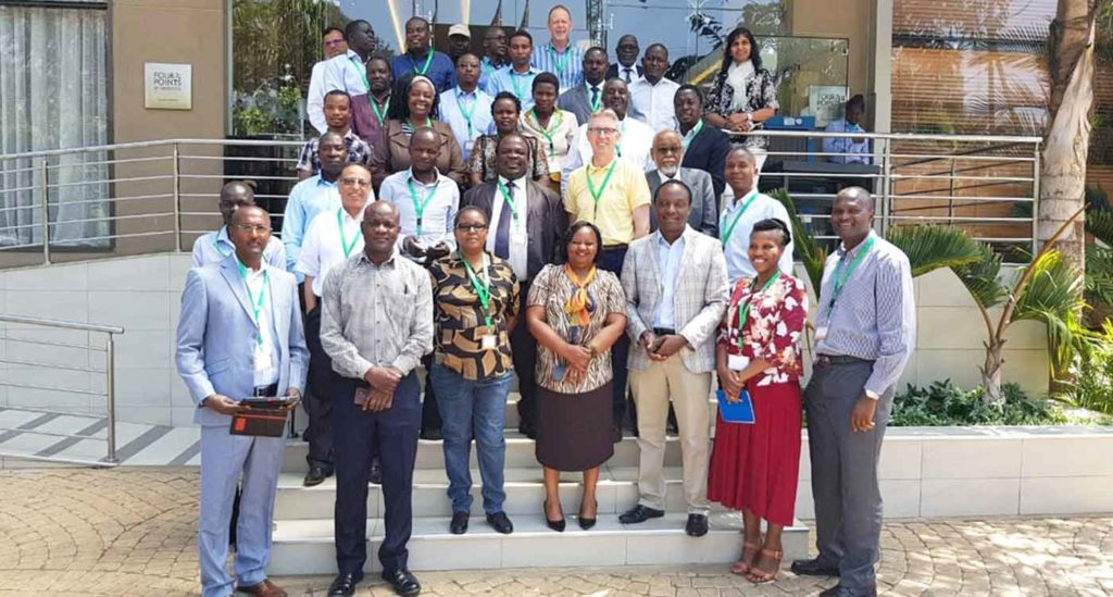 The CNG Sorghum and Millet team at Nairobi, Kenya, on 26 March 2019. Photo: E Manyasa, ICRISAT