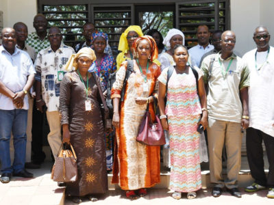Participants in the meeting, ICRISAT Samanko. Photo: ICRISAT