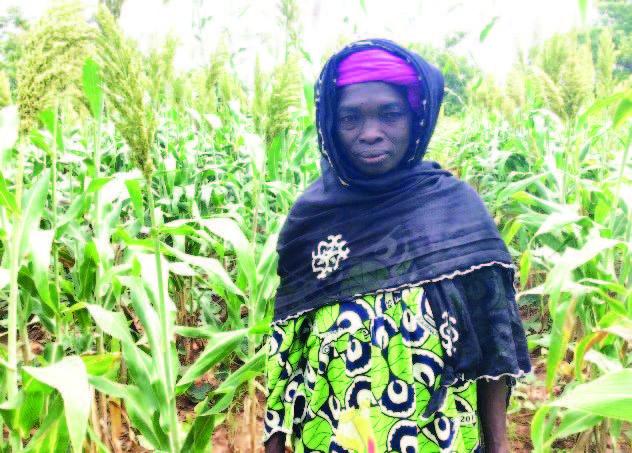 Pilot farmer Afou Ouattara Photo:CRS