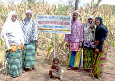 Members of the women associations in Sikasso in Mali. Photo: ICRISAT