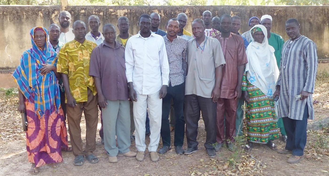 Members of the innovative platform of Yorosso. Photo: Malimark