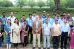 Participants of the project review and planning meeting. Photo: PS Rao, ICRISAT