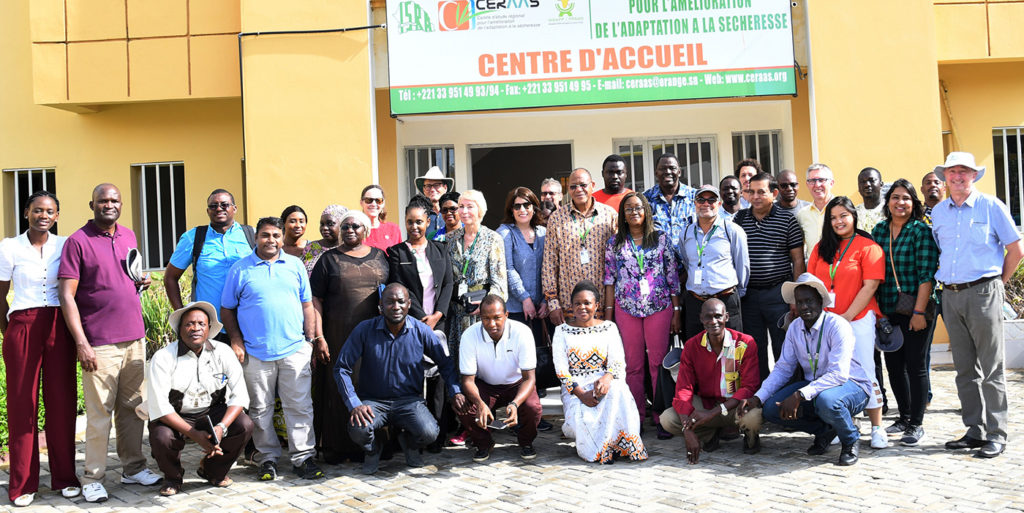 Group photo concluding the visit to CERAAS.