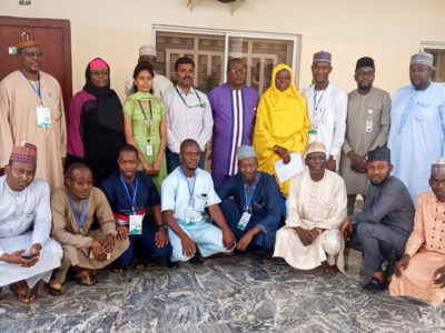 Participants of the international course on remote sensing, at the Centre for Dryland Agriculture, Bayero University (CDA-BUK), Kano. Photo: CDA-BUK