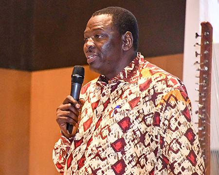 Dr Ramadjita Tabo, Regional Director, West and Central Africa, ICRISAT. Photos: A Diama, ICRISAT