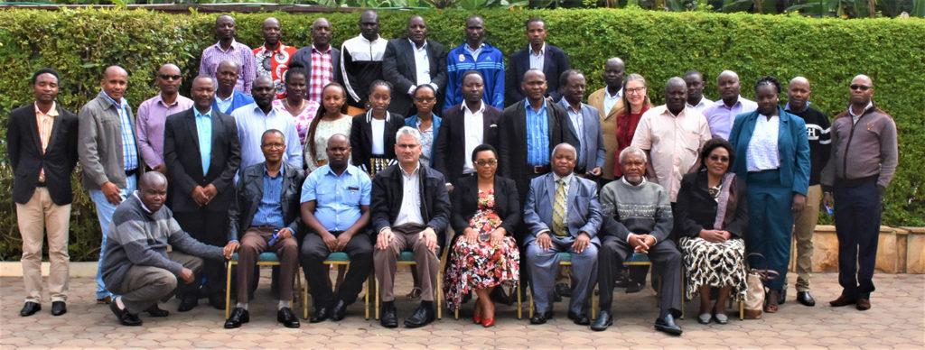 Group photo of participants. Photos: W Grace, ICRISAT