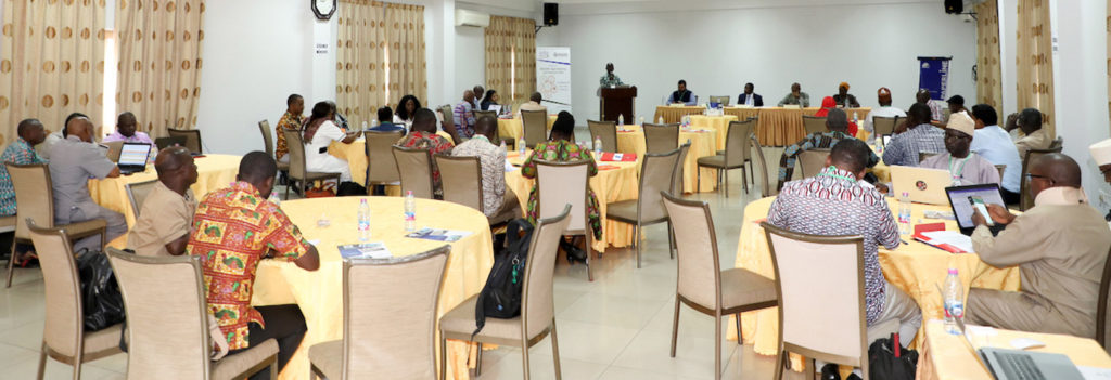 Workshop at Accra, Ghana. Photo: ICRISAT