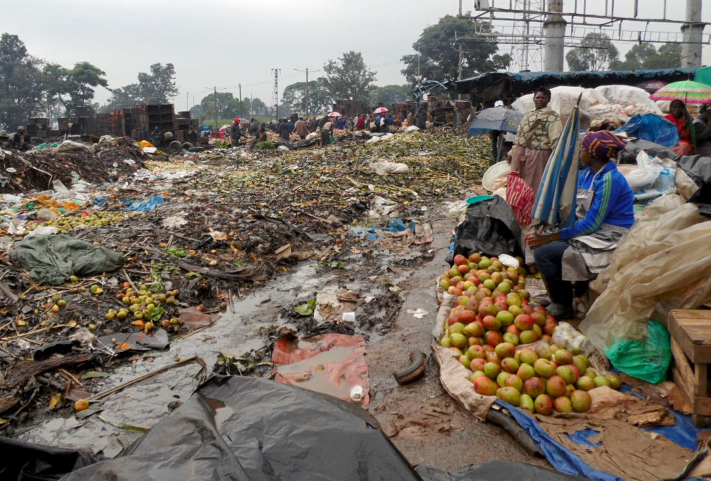 There are food safety issues in low-income urban areas. Photo: The Star, Kenya