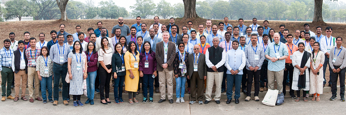 Participants and speakers at the AdaptNET workshop. Photo: PS Rao, ICRISAT