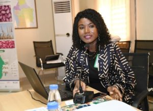 Ms Agathe Diama, Head, Regional Information, ICRISAT-WCA.